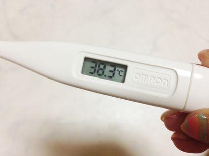 体温 37度 続く